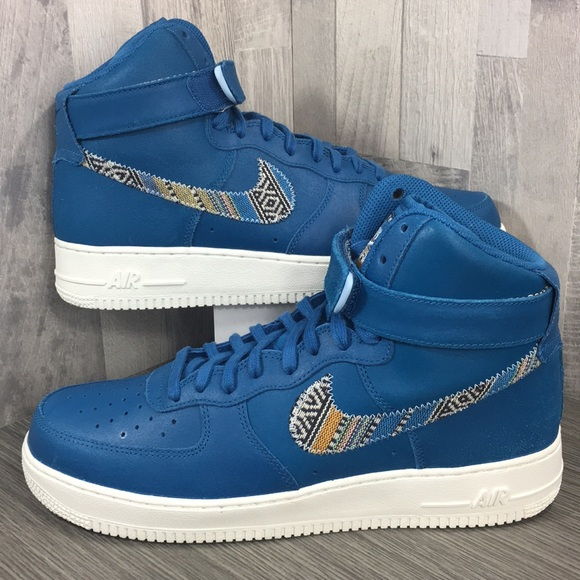 Nike Other - Nike Air Force 1 High '07 LV8 industrial blue